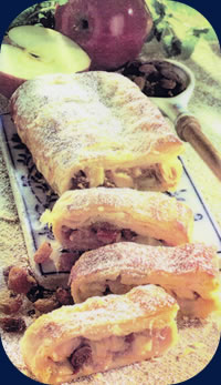 how to cook apple strudel